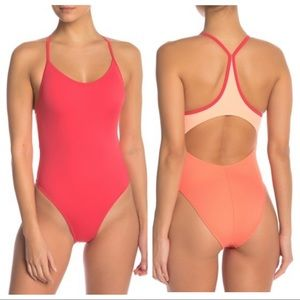 Outdoor Voices One Piece H2OV Colorblock Swimsuit